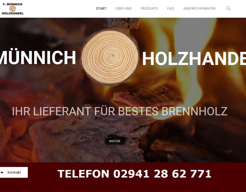 A24-data Projekt Brennholz Lippstadt Münnich