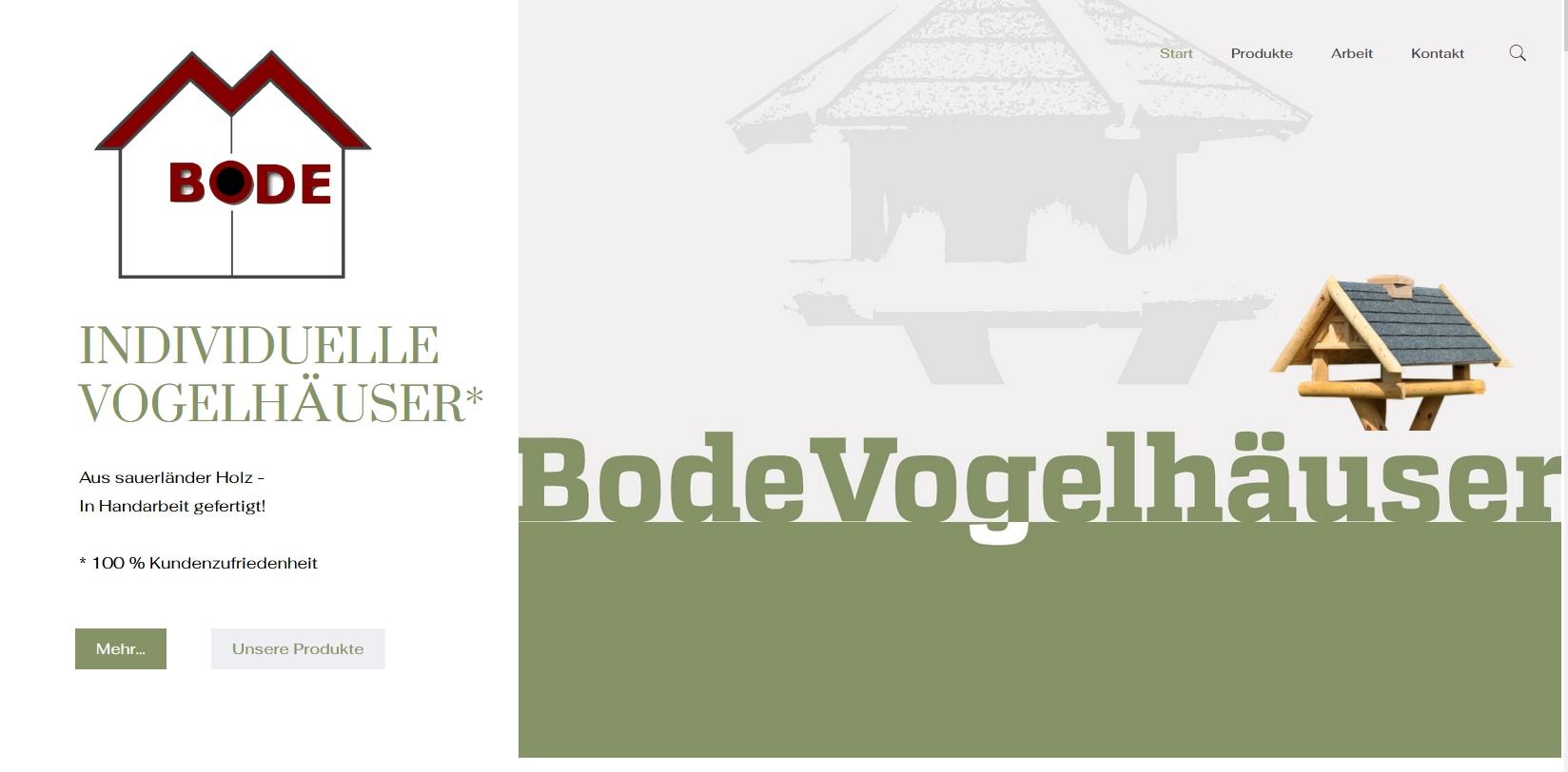 A24-data Projekt Vogelhäuser Bode